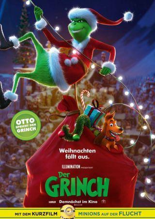 """Poster zum Film """"Der Grinch"""""""