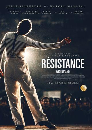 """Poster zum Film """"Resistance - Widerstand"""""""