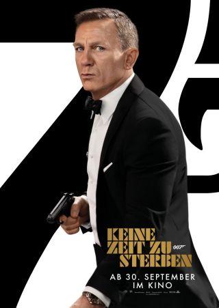 """Poster zum Film """"James Bond 007: Keine Zeit zu sterben"""""""
