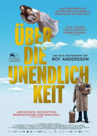 """Poster zum Film """"Über die Unendlichkeit"""""""