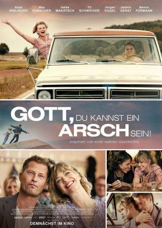 """Poster zum Film """"Gott, du kannst ein Arsch sein!"""""""