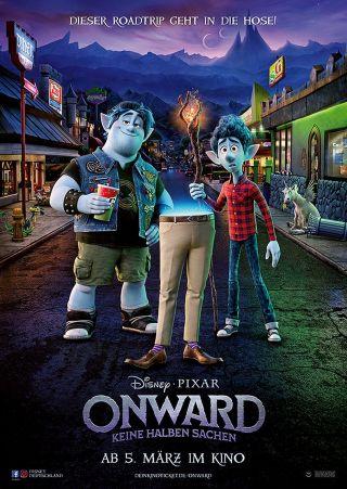 """Poster zum Film """"Onward: Keine halben Sachen 3D"""""""