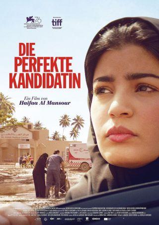 """Poster zum Film """"Die perfekte Kandidatin"""""""